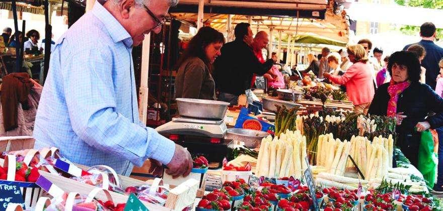 Mercados de Niza