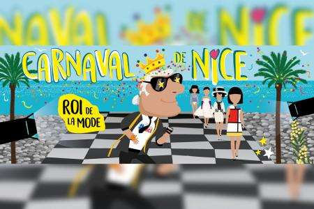 Carnaval de Nice 2020 « Roi de la Mode »