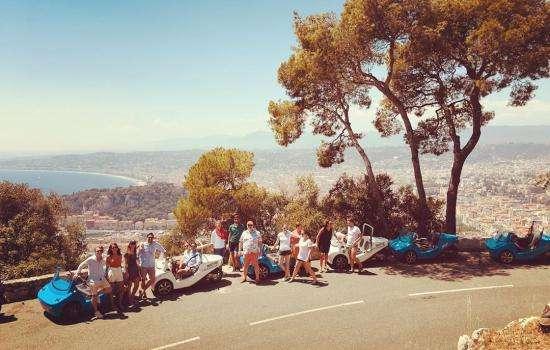 Visite insolite de Nice avec NiceCar